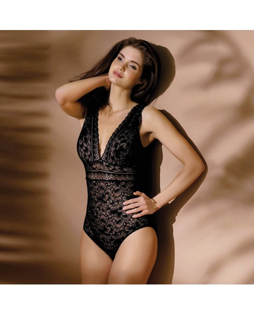 comprare on line 594fe 031a0 body sottogiacca in pizzo G17 Presence Dentelle Antinea ELG5217